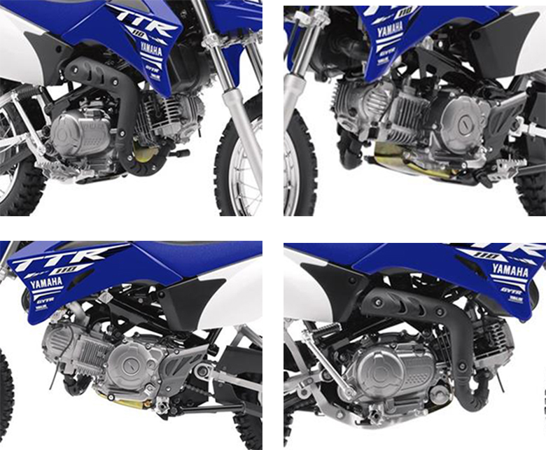 TT-R110E 2018 Yamaha Trail Motorcycle Specs