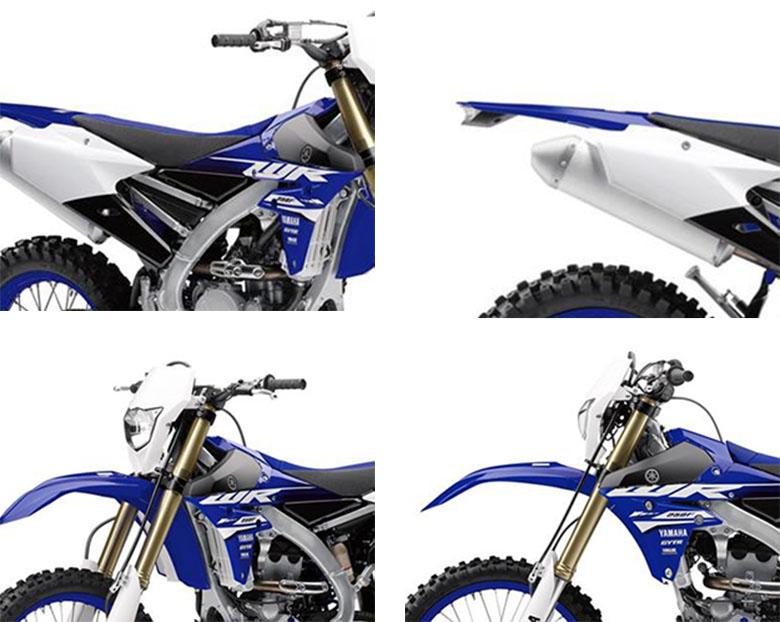 2018 Yamaha WR250F Cross Country Dirt Bike Specs