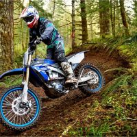 Yamaha 2018 YZ450FX Cross Country Motorcycle