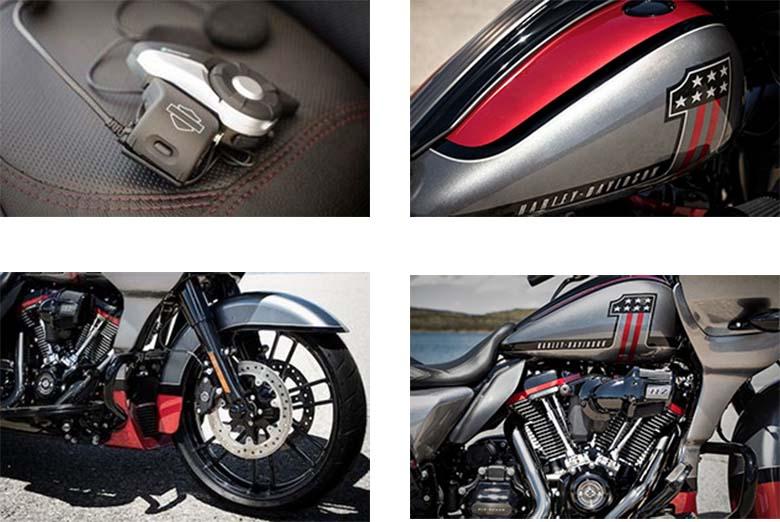 Harley-Davidson 2019 CVO Road Glide Motorcycle Specs
