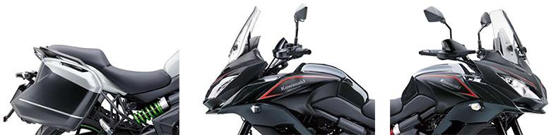 Kawasaki 2018 Versys 650 LT ABS Adventure Motorcycle Specs