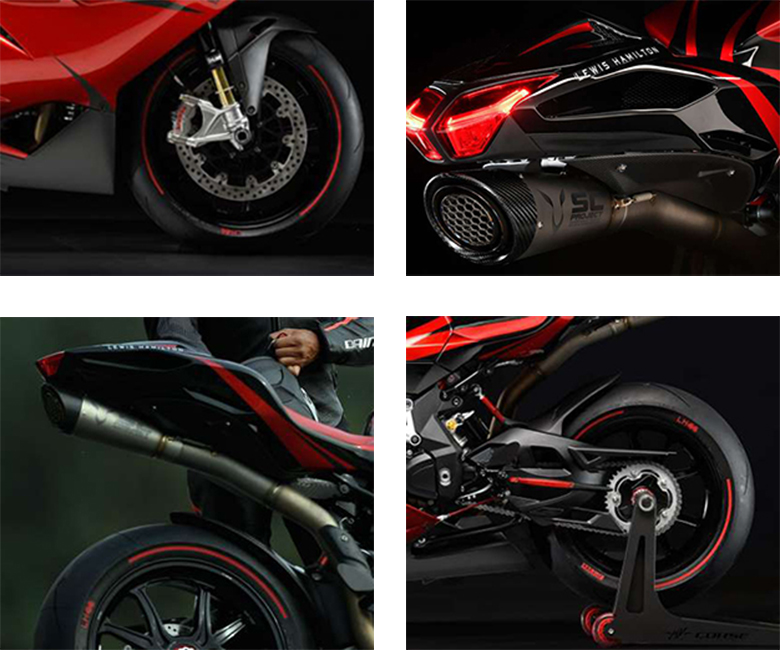 2018 F4 LH44 MV Agusta Powerful Sports Bike Specs