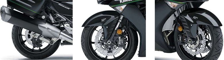 Kawasaki 2018 Concours 14 ABS Powerful Adventure Bike