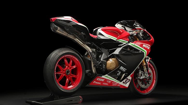 MV Agusta 2018 F4 RC Sports Bike