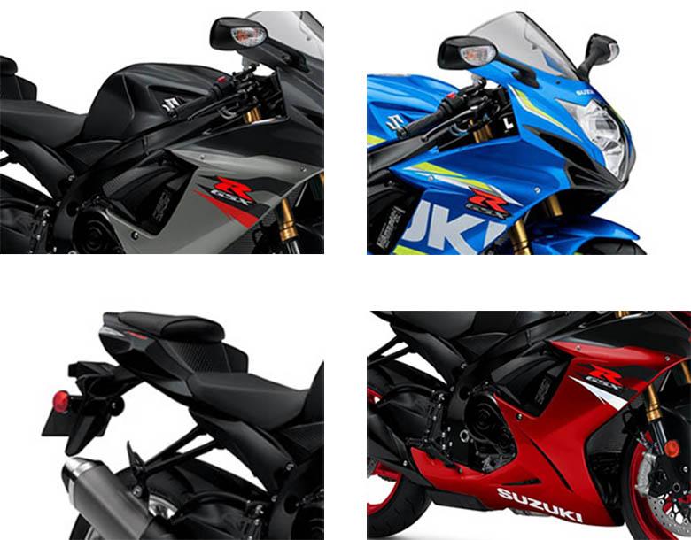 2018 GSX-R750 Suzuki Sports Bike Specs