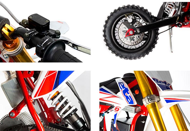 2019 MiniCross-E Beta Off-Road Motorcycle Specs