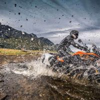 KTM 2018 1090 Adventure Touring Bike