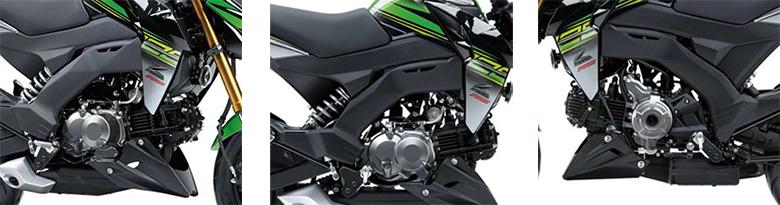 Kawasaki 2018 Z125 Pro KRT Urban Sports Bike Specs
