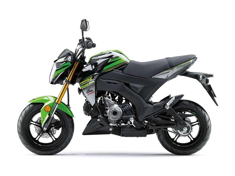 Kawasaki 2018 Z125 Pro KRT Urban Sports Bike