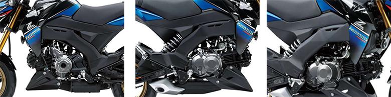Kawasaki Z125 Pro SE 2018 Urban Heavy Bike Specs