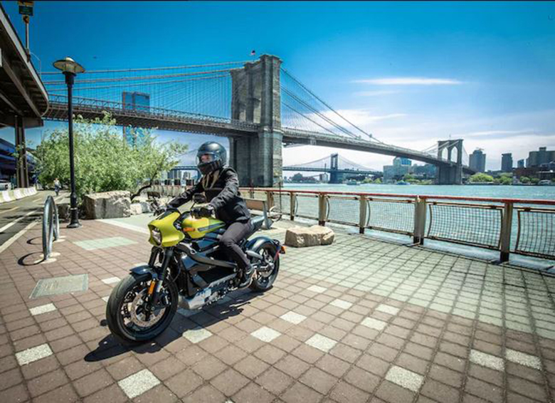 2020 Harley-Davidson LiveWire Electric Bike