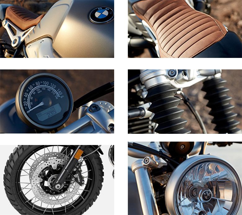 BMW 2019 R nineT Scrambler Heritage Bike Specs