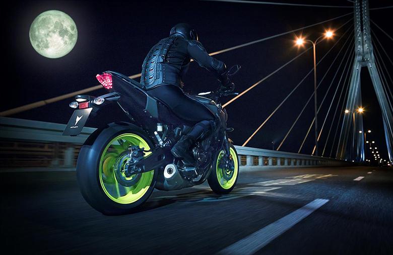 2018 MT-07 Yamaha Naked Bike