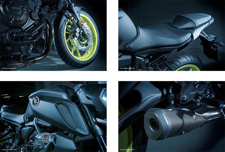 2018 MT-07 Yamaha Naked Bike Specs