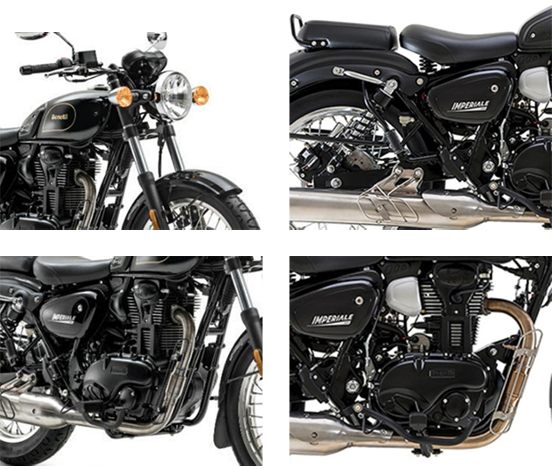 Benelli 2019 Imperiale 400 Classic Motorcycle Specs