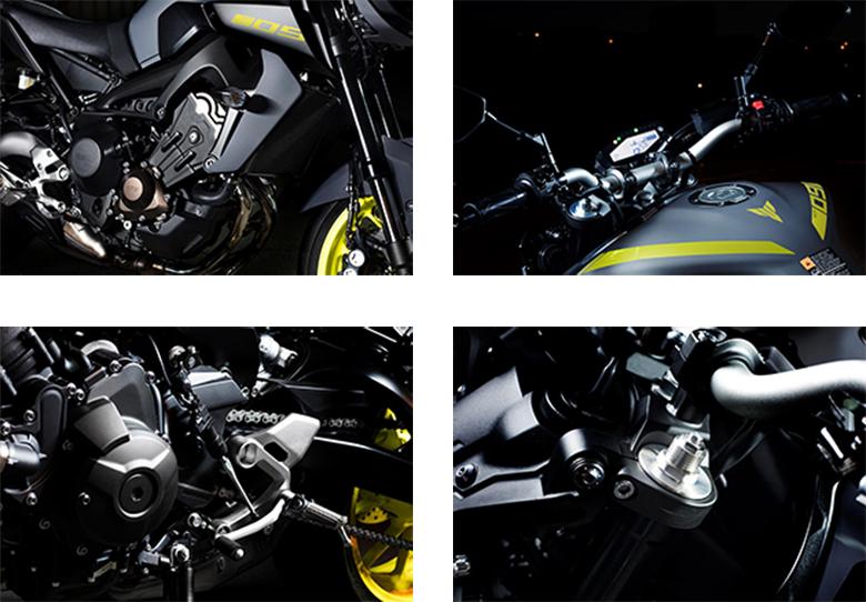 MT-09 Yamaha 2018 Naked Sports Bike Specs