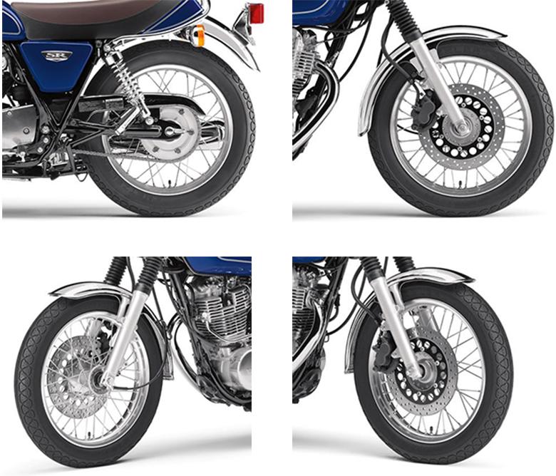 Yamaha 2018 SR400 Sports Heritage Bike Specs