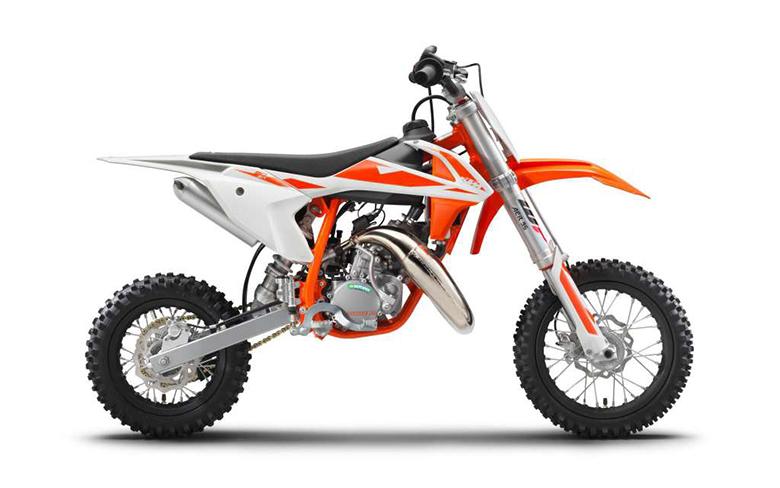 KTM 2019 50 SX Dirt Motorcycle