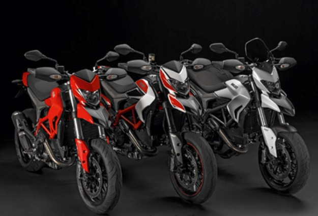 News motor bike 2013: Ducati Hypermotard, Hypermotard SP and Hyperstrada