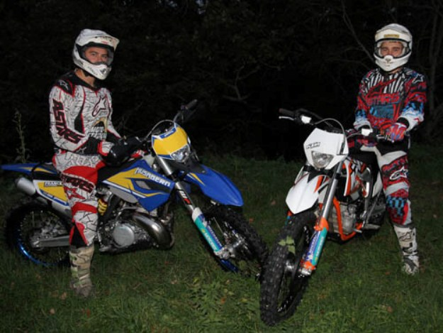 KTM 350 Freeride And Husaberg 250 TE