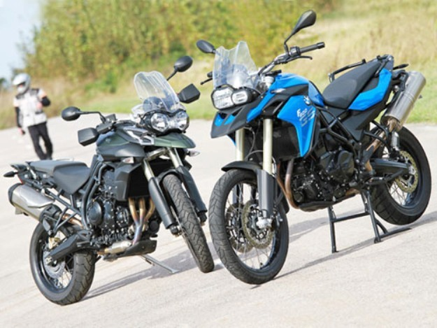 BMW F800GS vs Triumph Tiger 800 XC