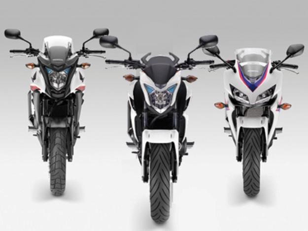 Honda CB 500 F, CB 500 X, CBR 500 R 2013