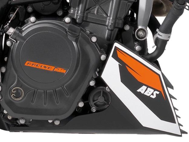 News motor bike 2013 with the EICMA: KTM 125 Duke ABS, slip under control