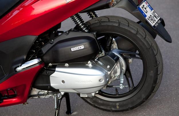 Honda PCX 125: complete equipment