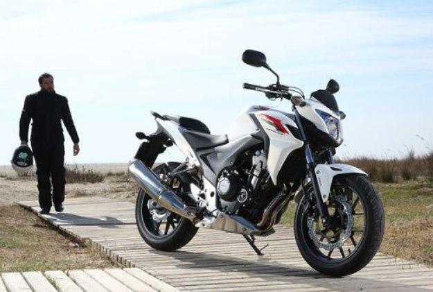 Test Honda CB500F 2013: The future diva of A2?
