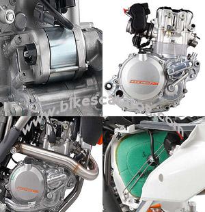 KTM 450 SXF 2014 engine