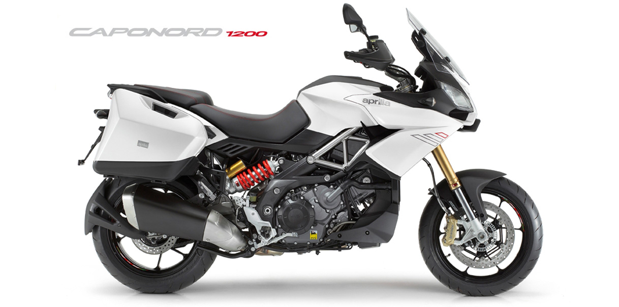 Aprilia Caponord 1200 ABS 2015 Travel Pack