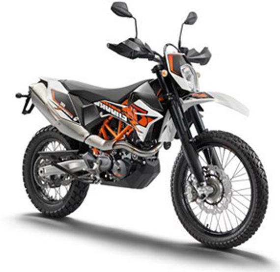 2016 KTM 690 Endure R front view