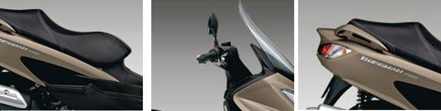 2017 Suzuki Burgman 200 Specs