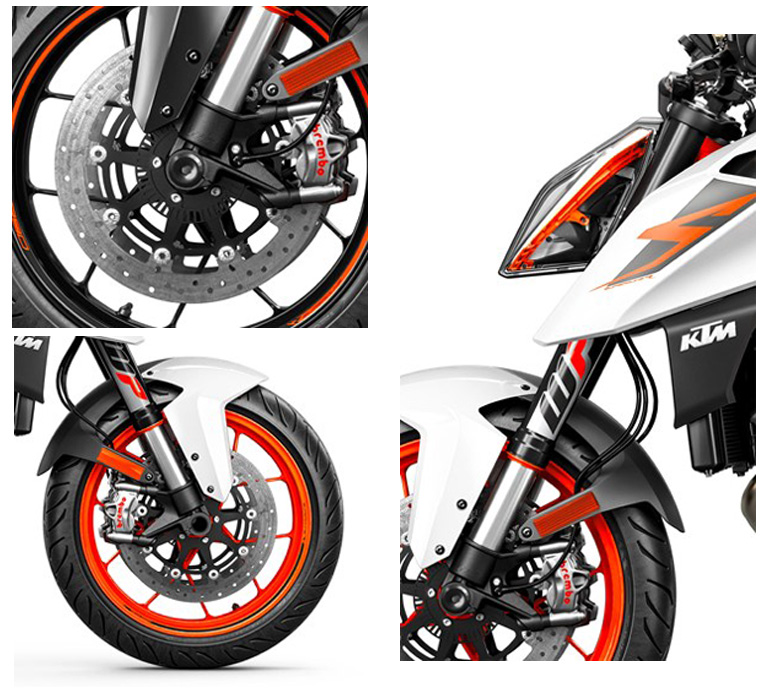 KTM 2019 790 Duke Powerful Naked Motorcycle - Review Specs Price