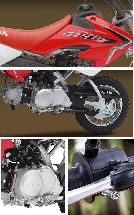 2017 Honda CRF50F Dirt Bike Specs