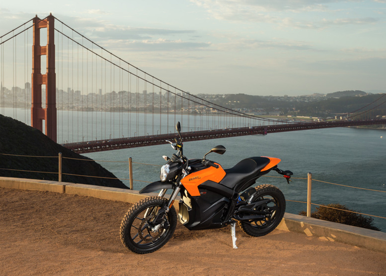 2017 Zero DS and DSR Electric Motorcycle