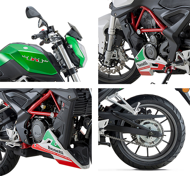 Benelli 2017 TNT 25 Naked Bike Specs