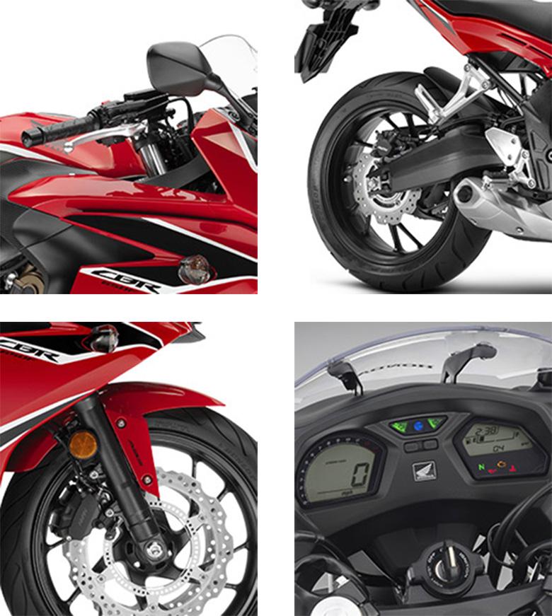 CBR650F Honda 2018 Sports Bike Specs