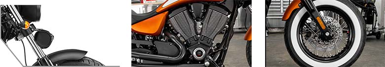2017 Victory High-Ball Cruiser Motorcycle Specs