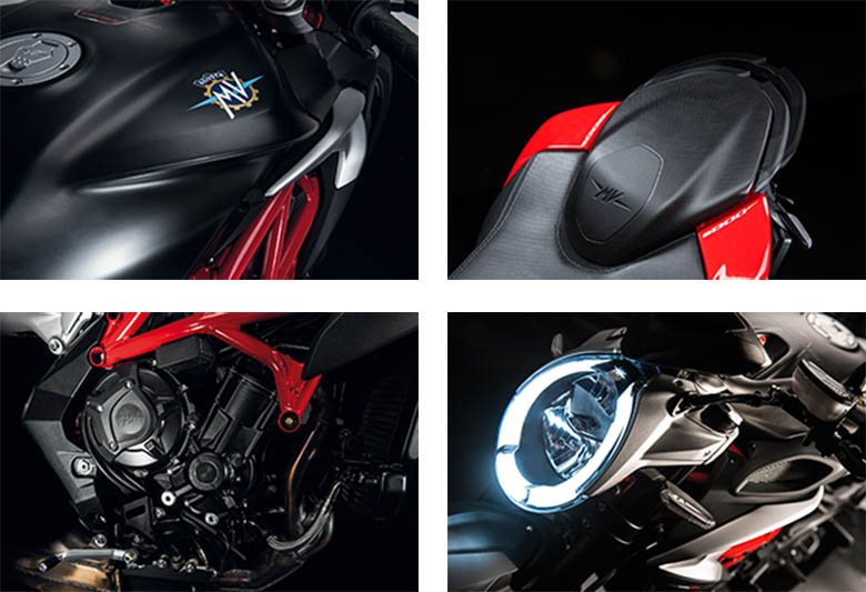 Brutale 800 MV Agusta 2017 Naked Sports Bike Specs