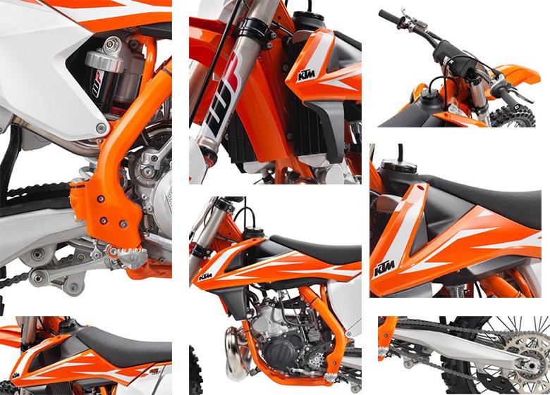 KTM 250 SX 2018 Dirt Bike Specs