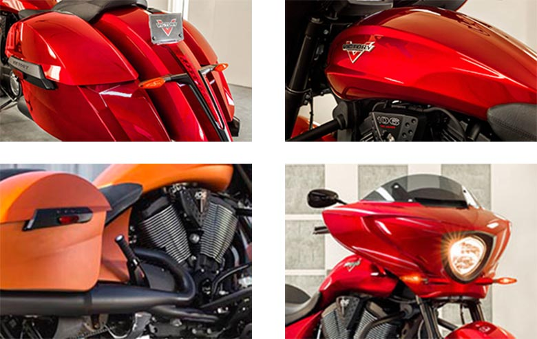 2017 Cross Country Victory Baggers Specs
