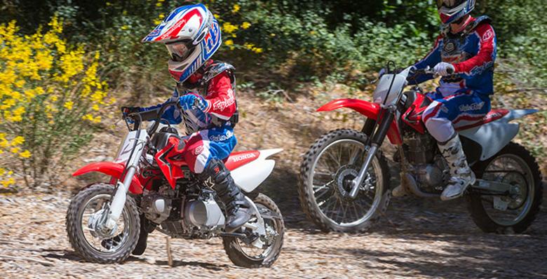 2018 CRF50F Honda Dirt Motorcycle