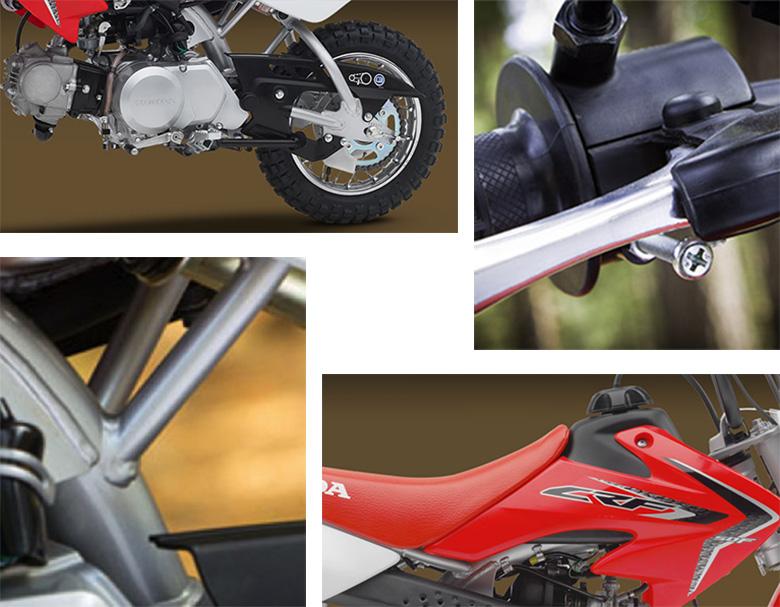 2018 CRF50F Honda Dirt Motorcycle Specs