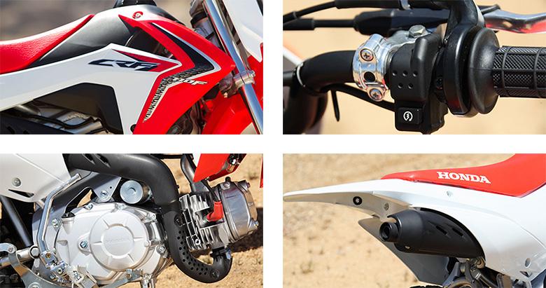 Honda 2018 CRF110F Dirt Motorcycle Specs