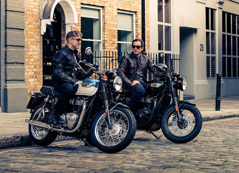 Triumph MY17 Bonneville T100 Family Classic Review