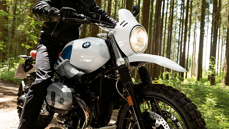 BMW 2017 R nineT Urban GS Heritage Bike