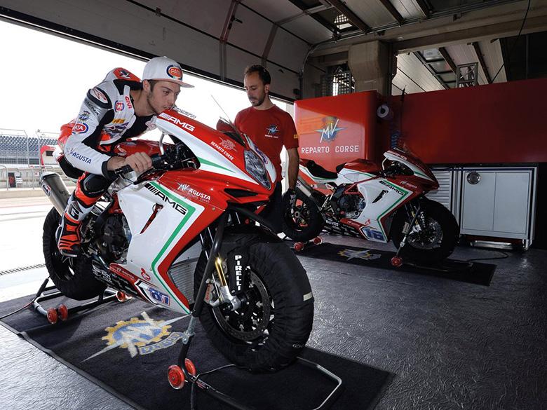 MV Agusta 2017 F3 800 RC Sports Motorcycle