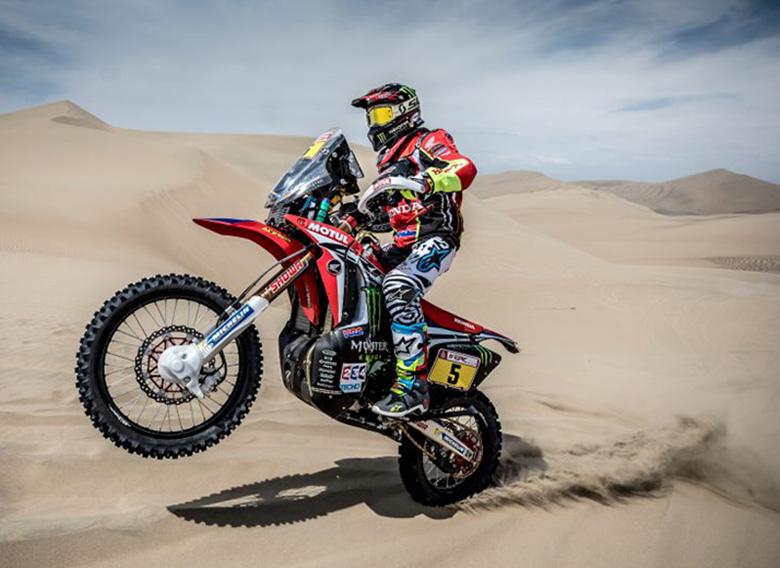 2018 Dakar Rally Day 2 Race