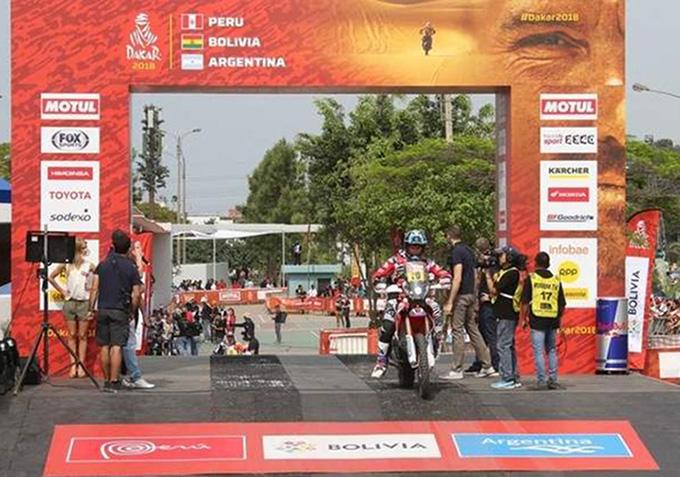 Dakar 2018 Day 1 Race Results